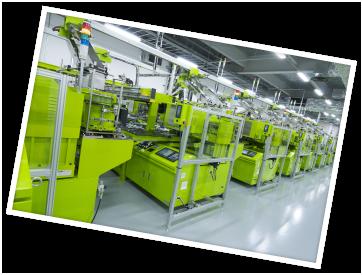 安全性、操作性の工場